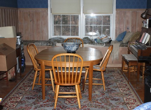 The dining room has lots of changes in store.