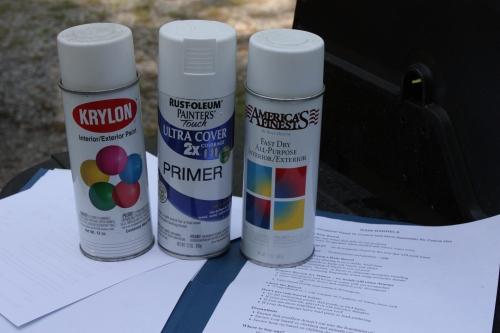 White Spray Paints