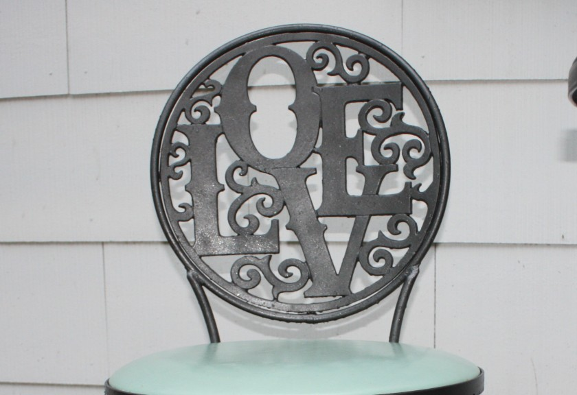 Bistro Chair - Metallic Charcoal