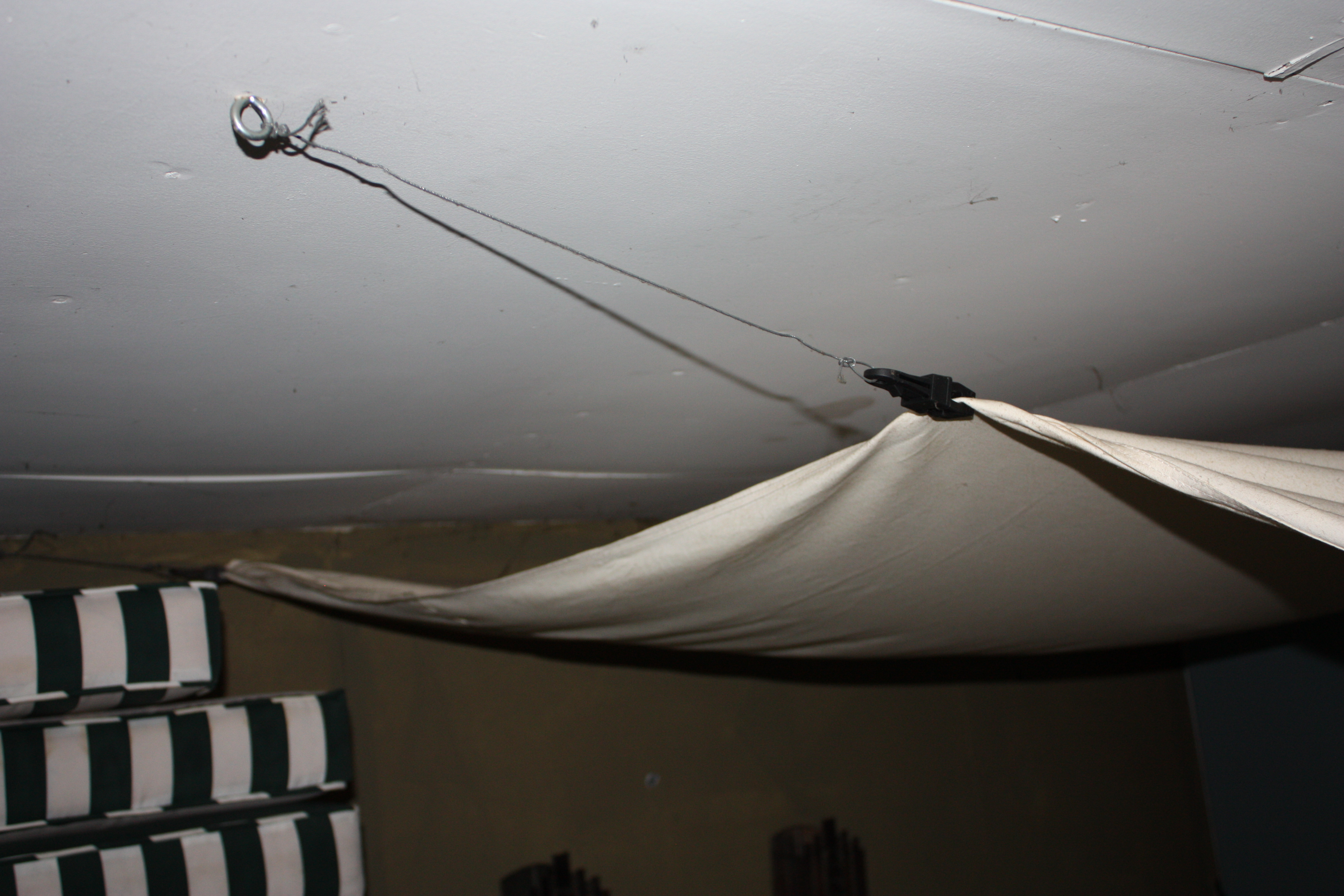Drop Cloth Ceiling Let S Face The Music