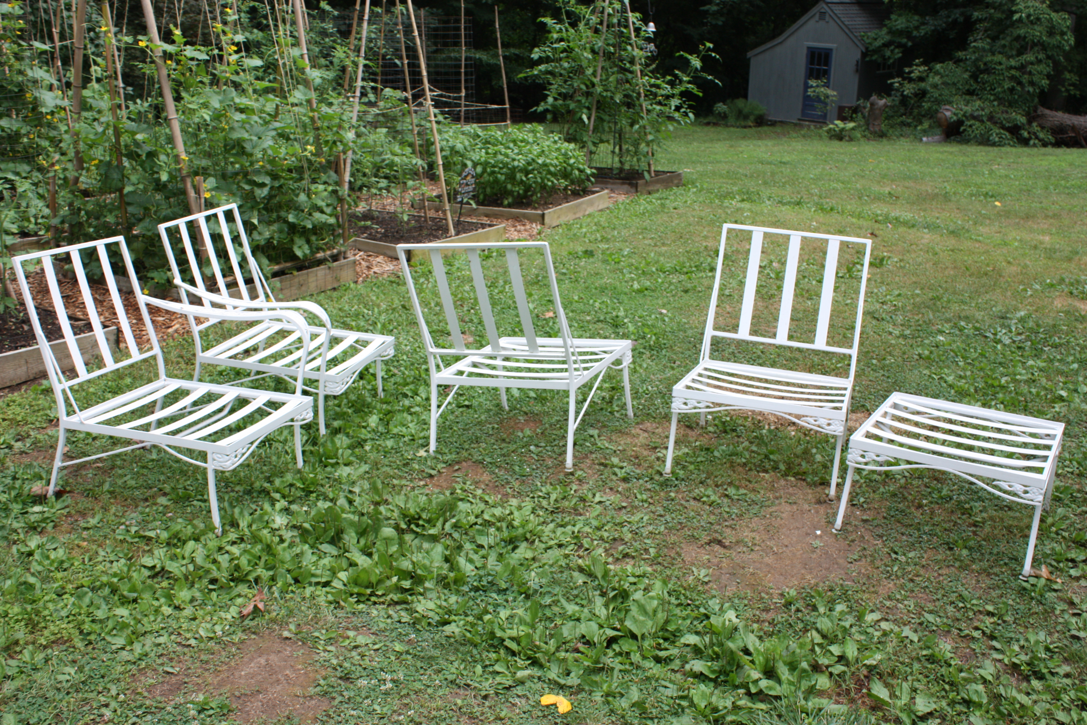 Vintage Patio Furniture Let S Face The Music