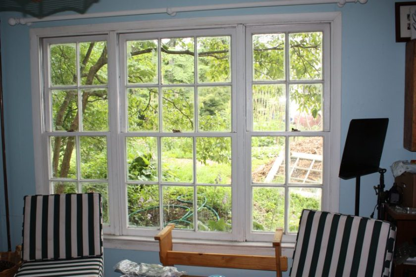 The Cottage windows are charming but drafty.
