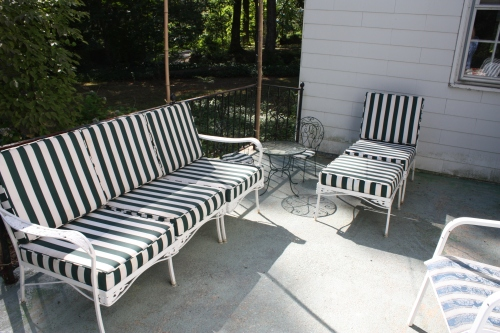 Classic porch furniture