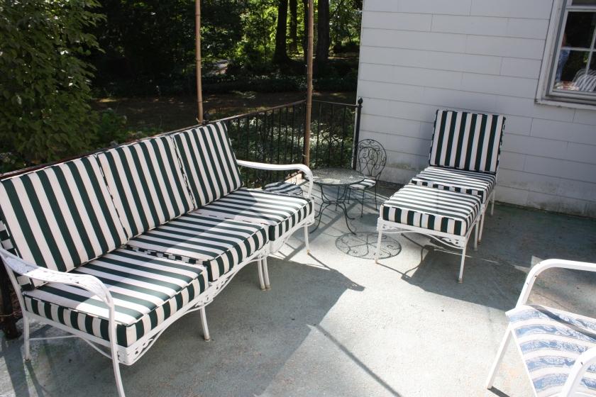 Classic porch furniture