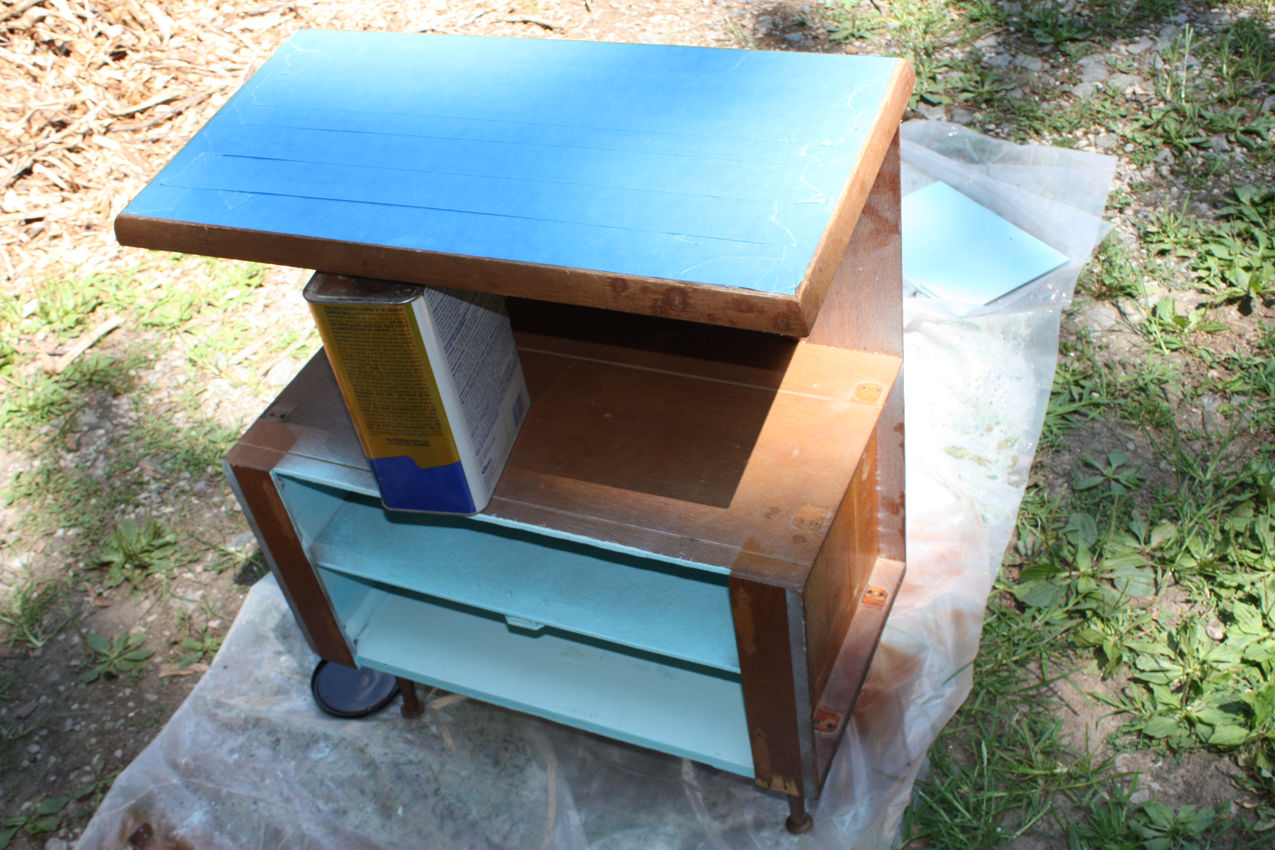 spray kitchen cabinets tile top cabinet from the 60s let s the 2433