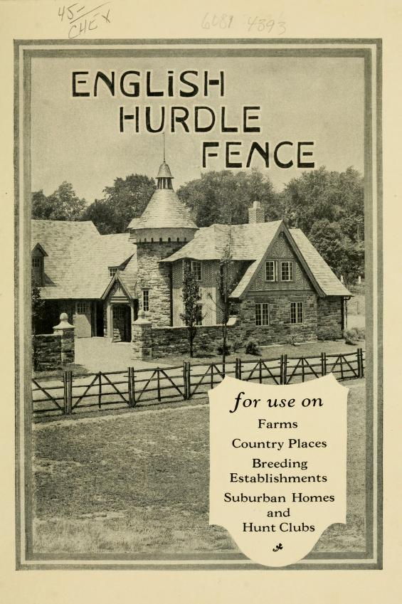English Hurdle Fence Let S Face The Music