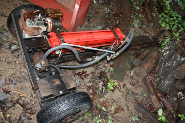 free log splitter plans - Home Built Log Splitter Plans
