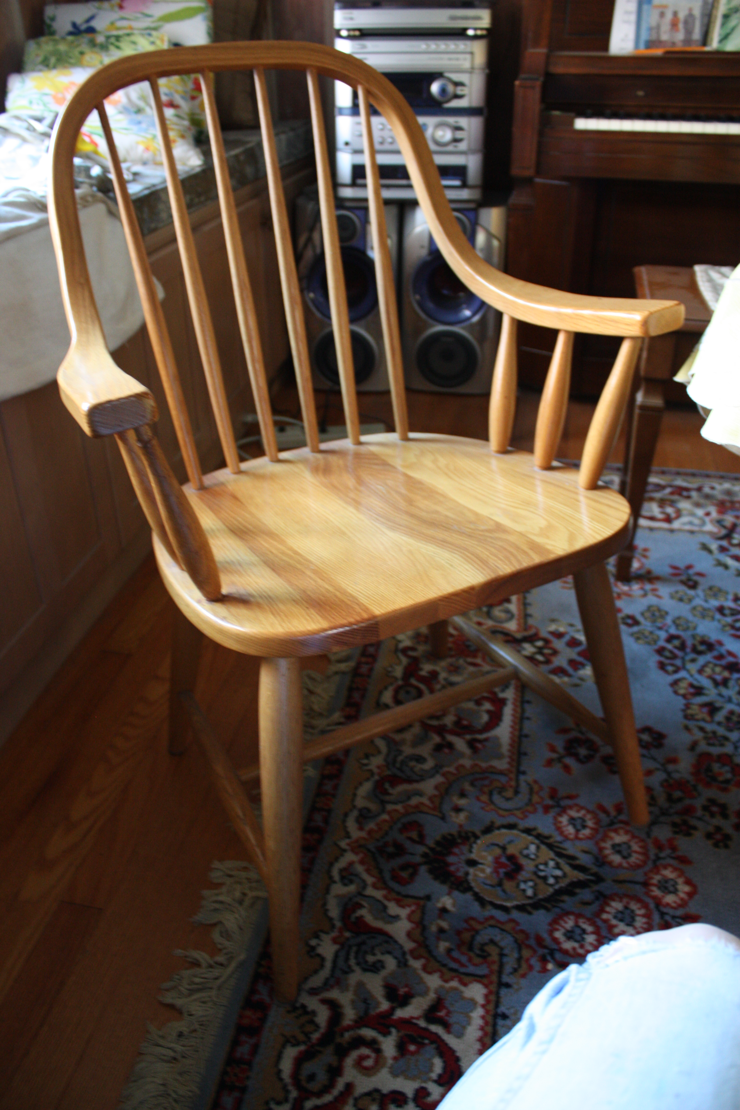 Painted Dining Room Chairs: Before And After