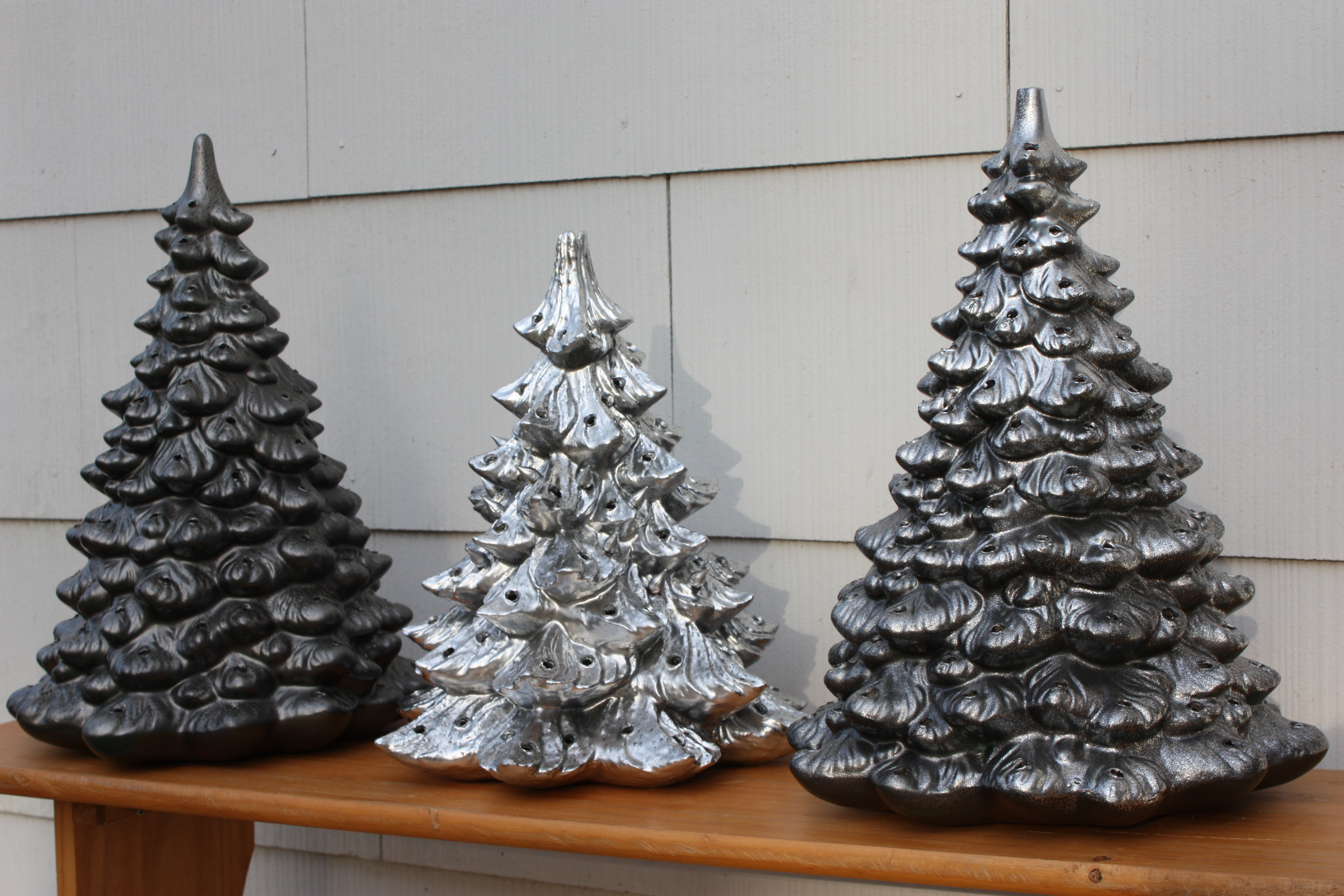 Heirloom Ceramic Christmas Tree Desecration – Let's Face the Music