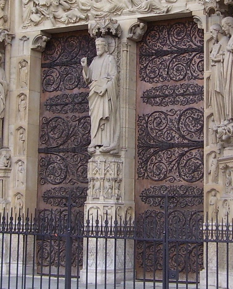 The Mystery Of The Hinges Of Notre Dame Let S Face The Music
