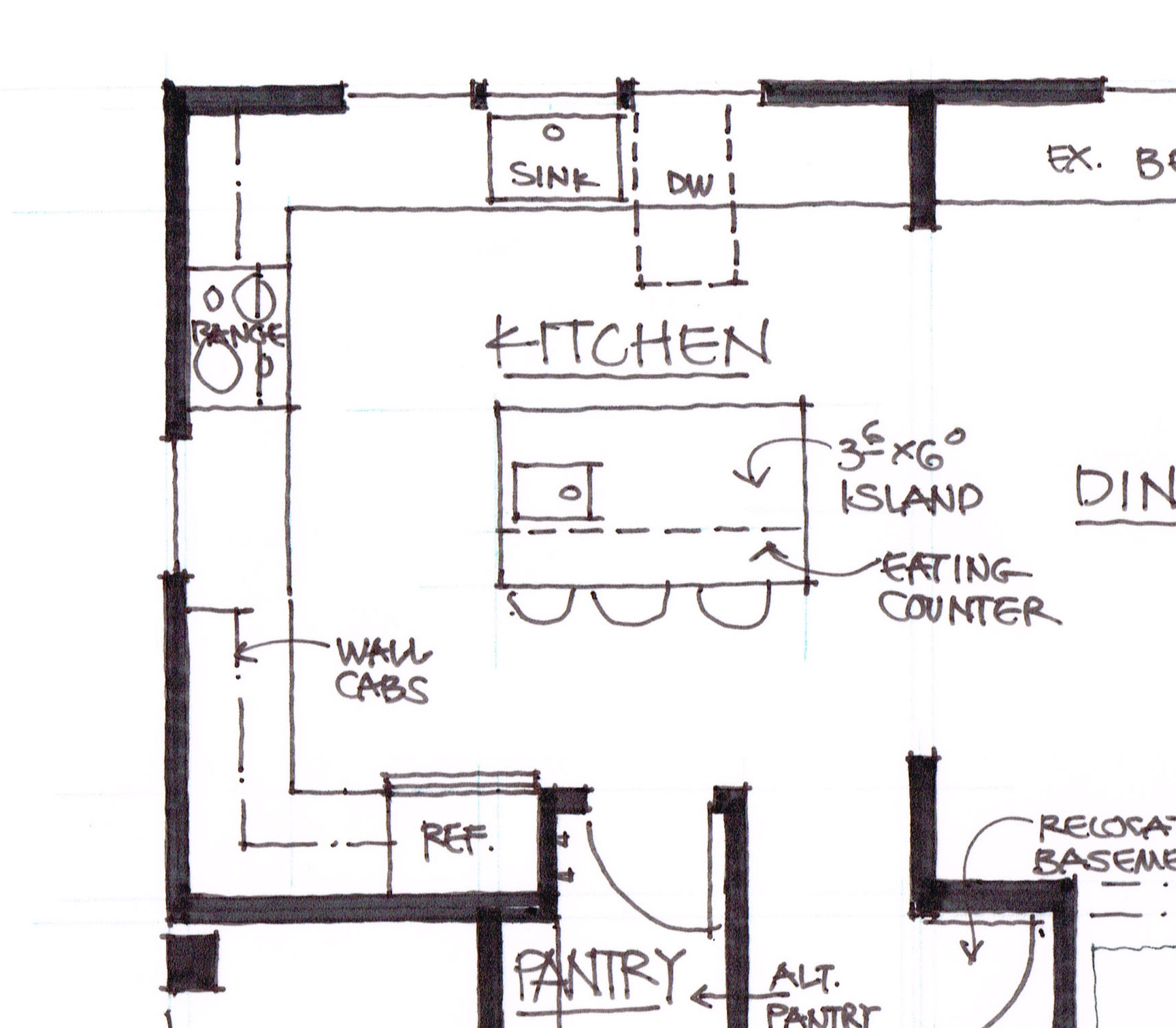 The glade a la carte kitchen let 39 s face the music House plans with large kitchen island