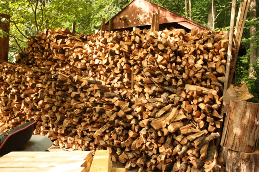 We've sold and used ourselves most of this wood..