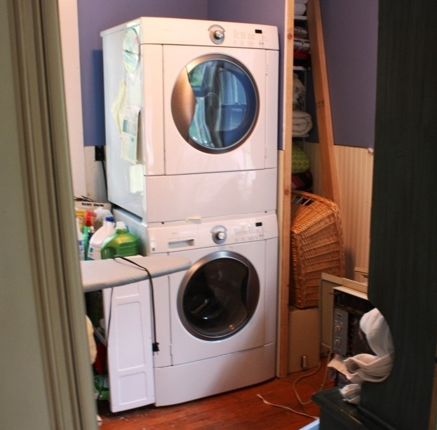 Our washer/dryer set-up