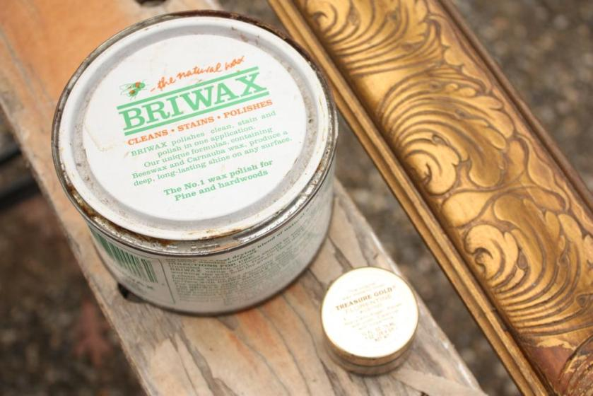 Clear Briwax would be a nice finish.