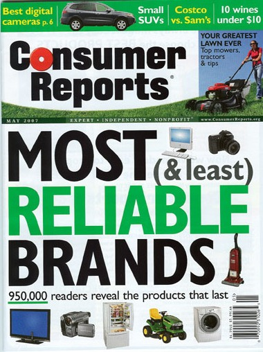 Consumer Reports is a reliable resource.