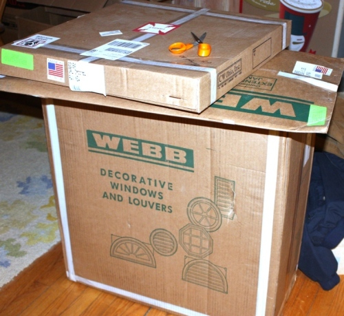"The original windows also came packaged in ""Webb"" boxes."