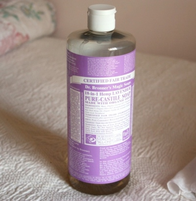 32 ounces of Dr. Bronner's Castile Soap