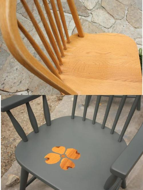 Before and after seat detail