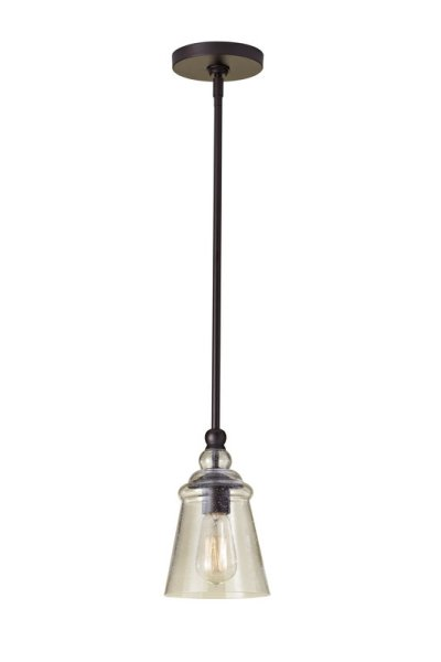 Seeded glass pendant by Murray Feiss for the Urban Renewal Collection, $83