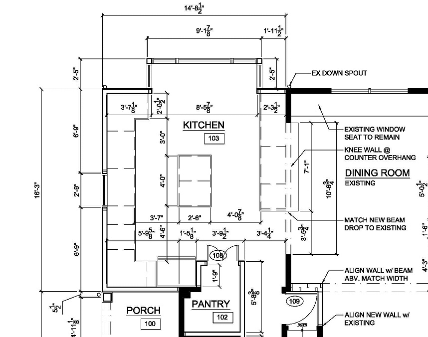 Focusing on the kitchen design let 39 s face the music for Design a room online free with measurements