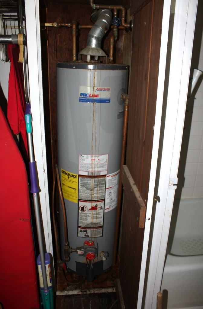 In order to turn the water on in the Cottage we need a new water heater.