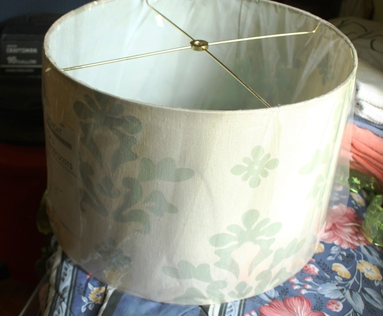 Large barrel lamp shade