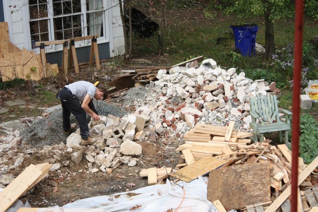 Pile Of Building Debris : The rubble pile is history let s face music