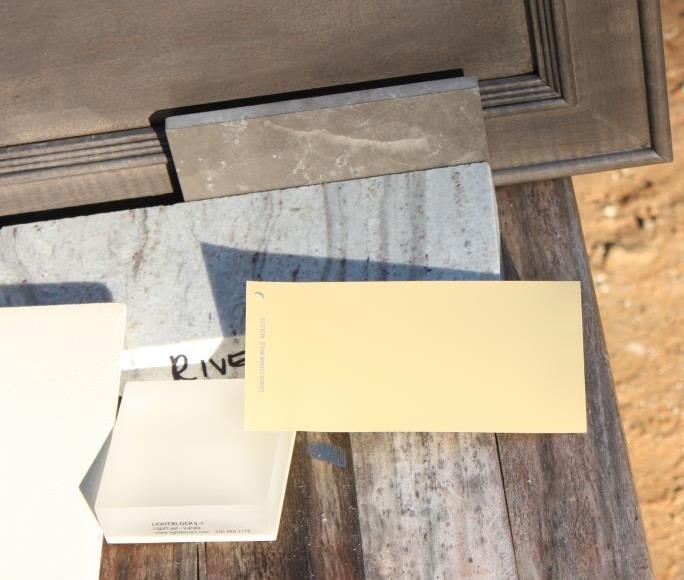 I'd like to keep color samples of our paint and finish choices.