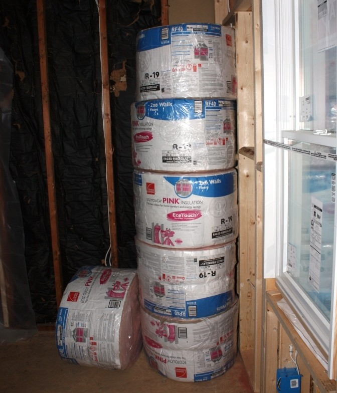 r30 insulation comes in rolls about the size of r19 but is
