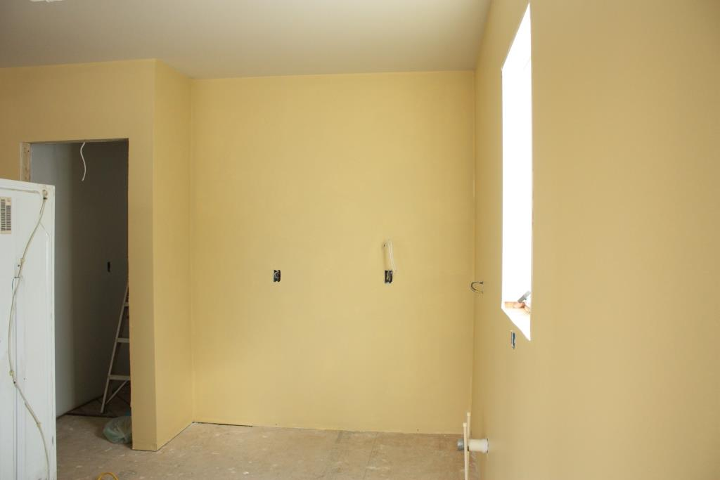 Yellow kitchen walls with dark cabinets - Painting Has Its Scary Moments Let S Face The Music