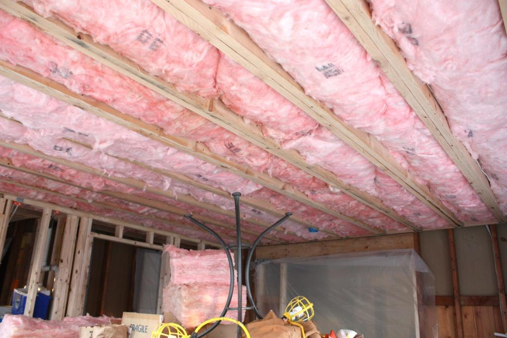 Starting on the Second Floor Insulation – Let's Face the Music
