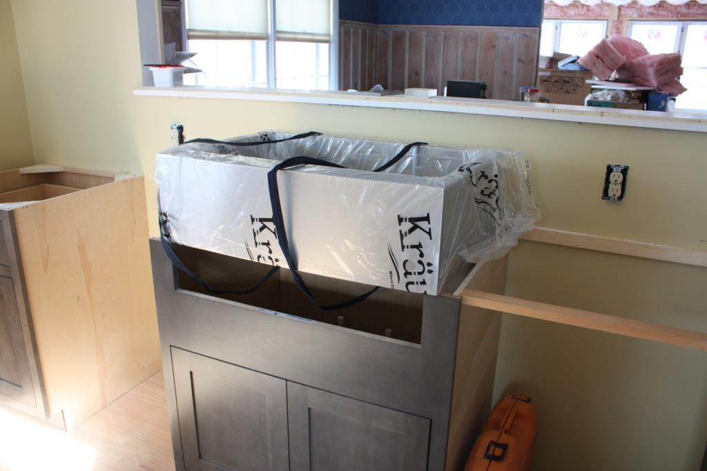 Installing the Undermount Kitchen Sinks – Let s Face the Music