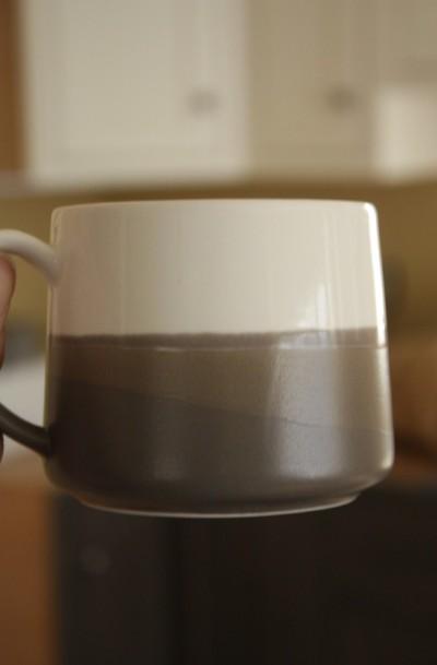 The new Starbucks mug.