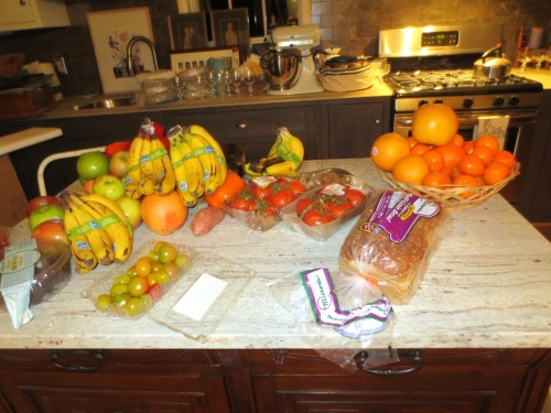 We'll be offering fresh fruit for people who are picky morning eaters.