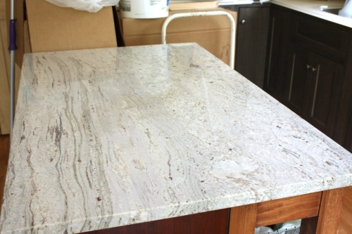 I might like a countertop of white river granite unless the price is just too much.