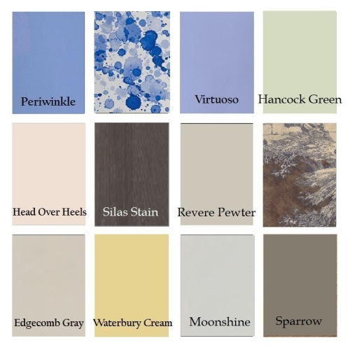 This is the current house palette.