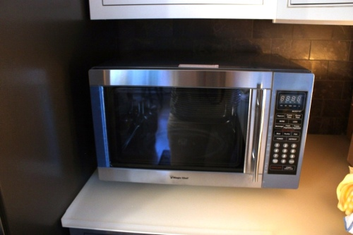 Our microwave was only 2 months old when it had its demise.