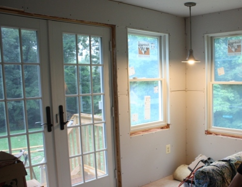 All the electric in the house works and the outlets and switches are fully functional.