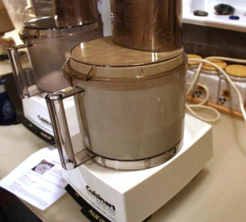 A food processor is definitely the fast way to make mayonnaise except it's difficult to taste along the way.