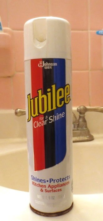 Jubilee is an old-fashioned product that leaves a waxed shine and protection.