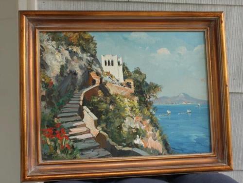 The Phoenician Steps in Capri