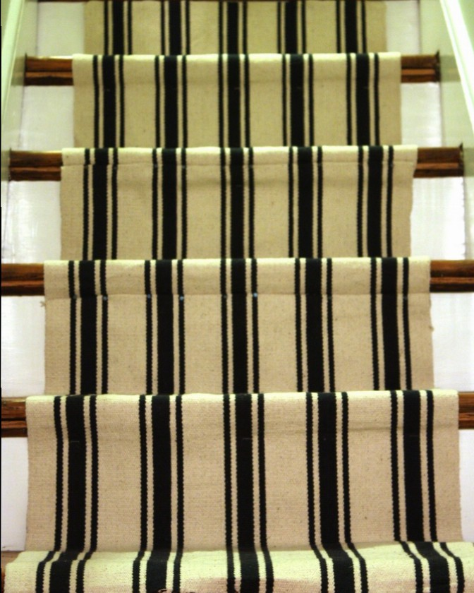 I started the stair runner back in 2014.