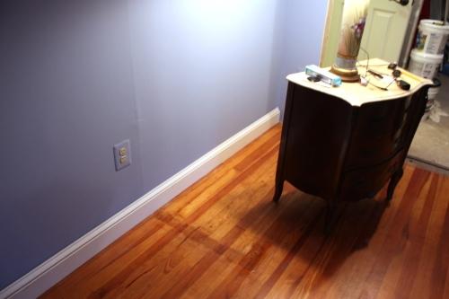 Bedroom baseboard