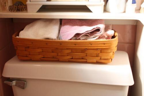 A fresh supply of washcloths.