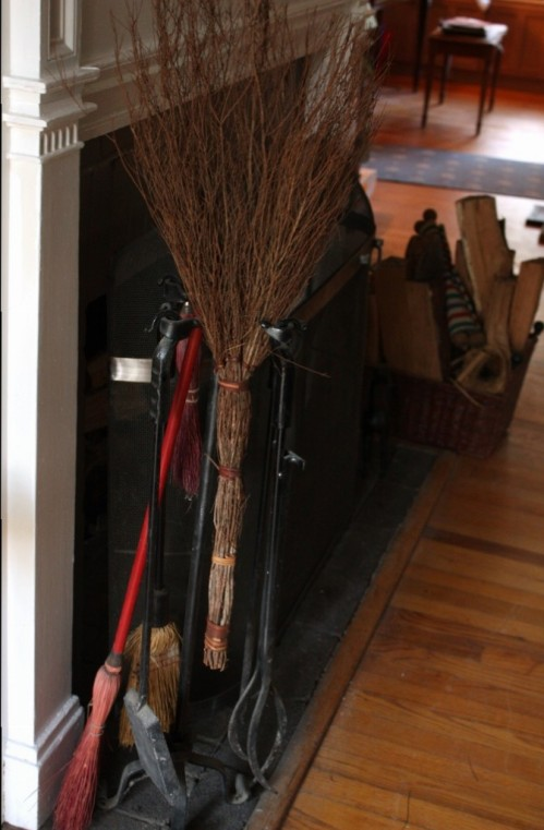 Cinnamon brooms make the house smell delicious.