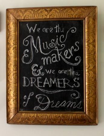 My chalkboard