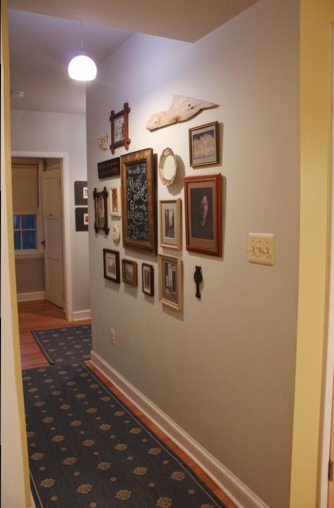 The hall.