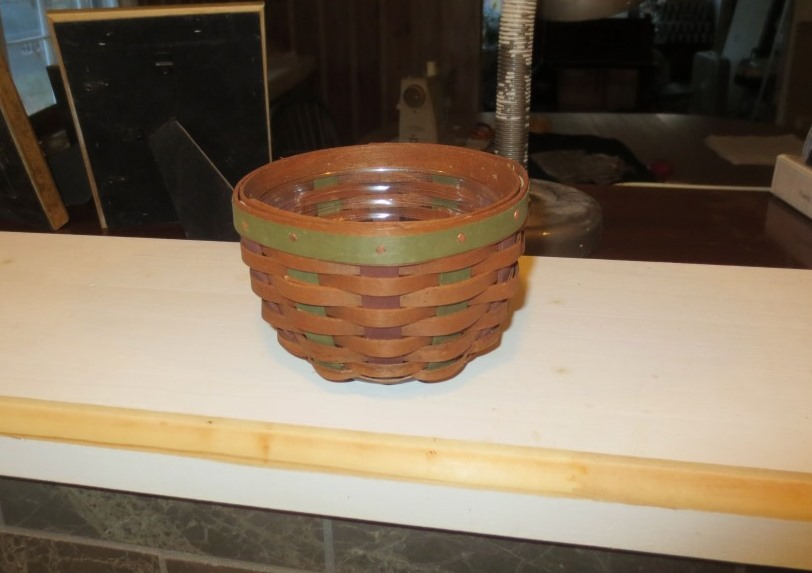 My prize was a small Longaberger basket and liner.