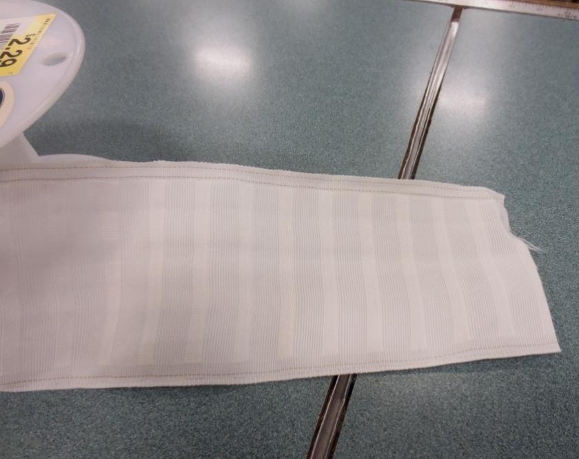 Pleater tape