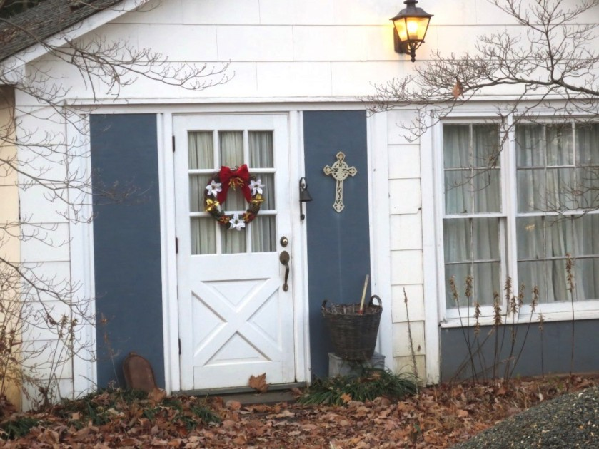 The Cottage needs a little Christmas spirit, too.